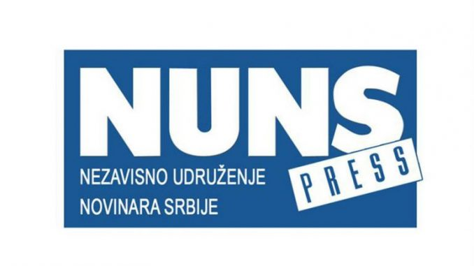 NUNS apelovao da se novinarima omogući bezbedno izveštavanje sa protesta 1