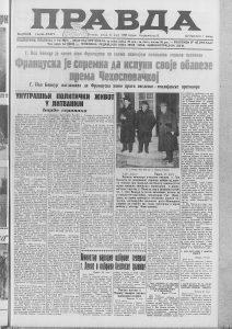 Šta je Musolini rekao srpskom novinaru 1938. godine? 3