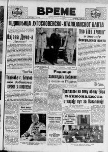 Šta je Musolini rekao srpskom novinaru 1938. godine? 2