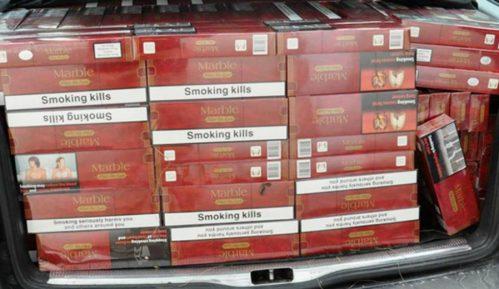 """Zaplenjeno 500 boksova cigareta i """"Mercedes"""" 14"""