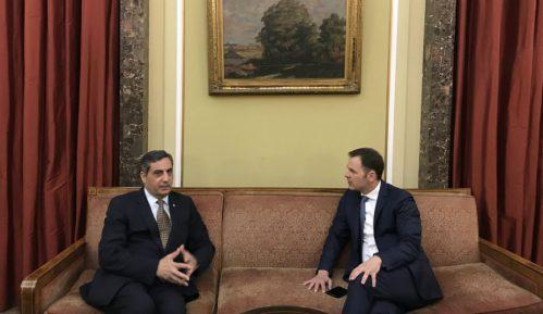 Gradonačelnik Siniša Mali sastao se sa ambasadorom Jordana 14