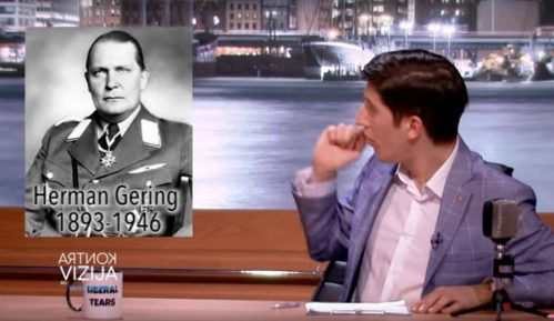 Pink emitovao lažno pitanje o Geringu da ismeje demonstrante? 3