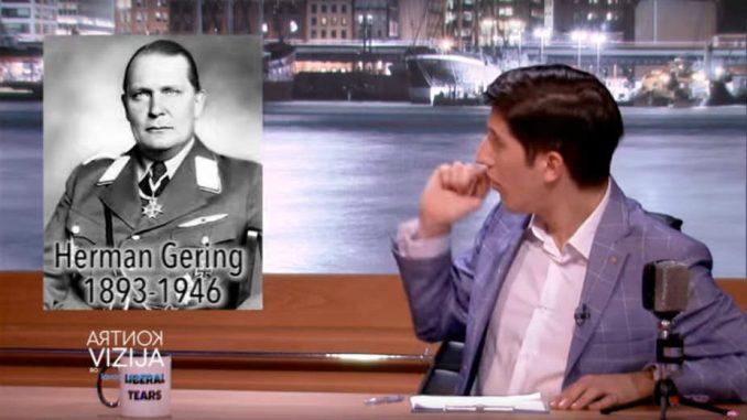 Pink emitovao lažno pitanje o Geringu da ismeje demonstrante? 1