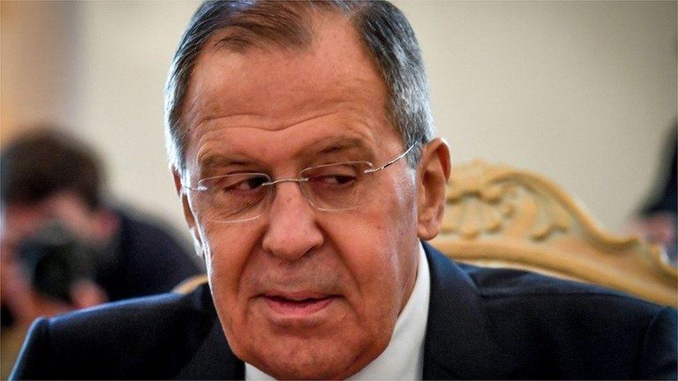 Ruski ministar spoljnih poslova Sergej Lavrov