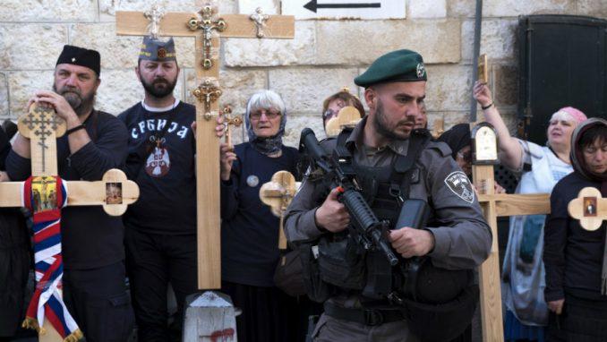 Veliki petak u Jerusalimu 1
