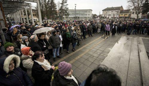 U Požegi se danas održava šesti protest protiv lokalne vlasti 4