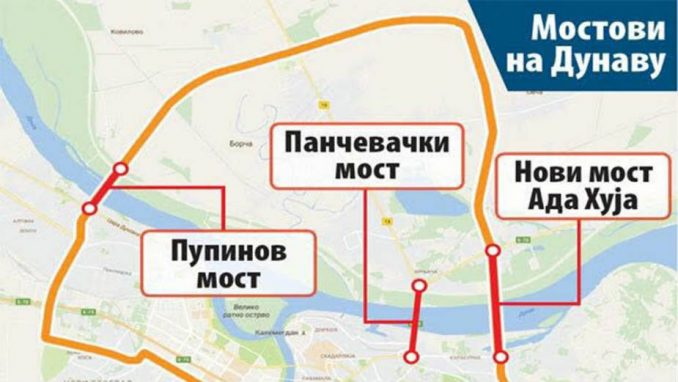 Za most na Adi Huji - odlaganje od godinu dana i 216 miliona evra 4