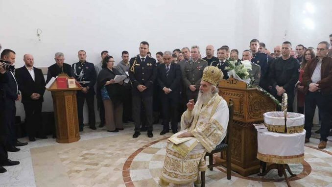 Patrijarh odlikovaoSAJ i Vulevića za gradnju crkve 1