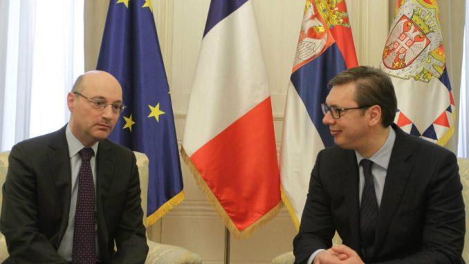 Vučić: Konstantan napredak odnosa sa Francuskom 1