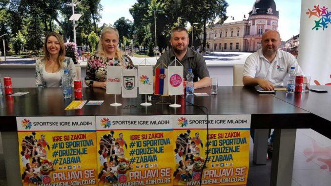 Sportske igre mladih 25. maja u Sremskoj Mitrovici 1