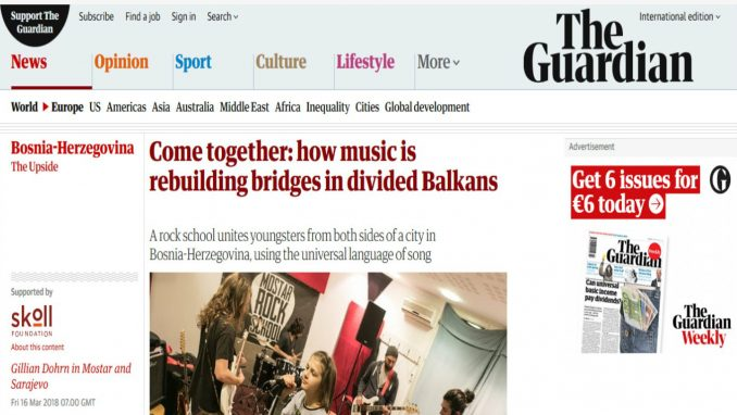 Kako muzika obnavlja mostove na podeljenom Balkanu 3