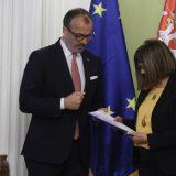 Fabrici predao izveštaj Evropske komisije Maji Gojković 15