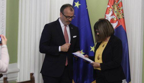 Fabrici predao izveštaj Evropske komisije Maji Gojković 13