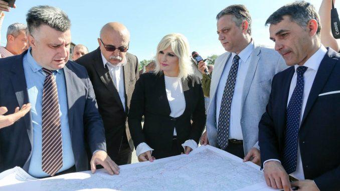 Mihajlović: Gradiće se saobraćajnica koja će povezivati Valjevo sa Koridorima 1