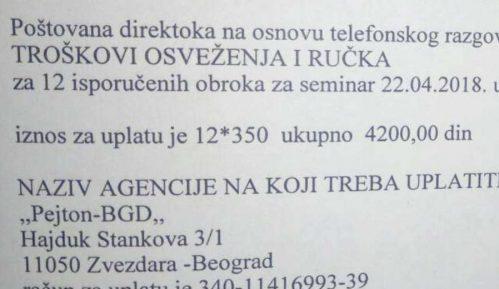 Ručak u Zrenjaninu, ceh u Beogradu 13