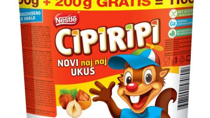 Nestle prodaje Cipiripi 1