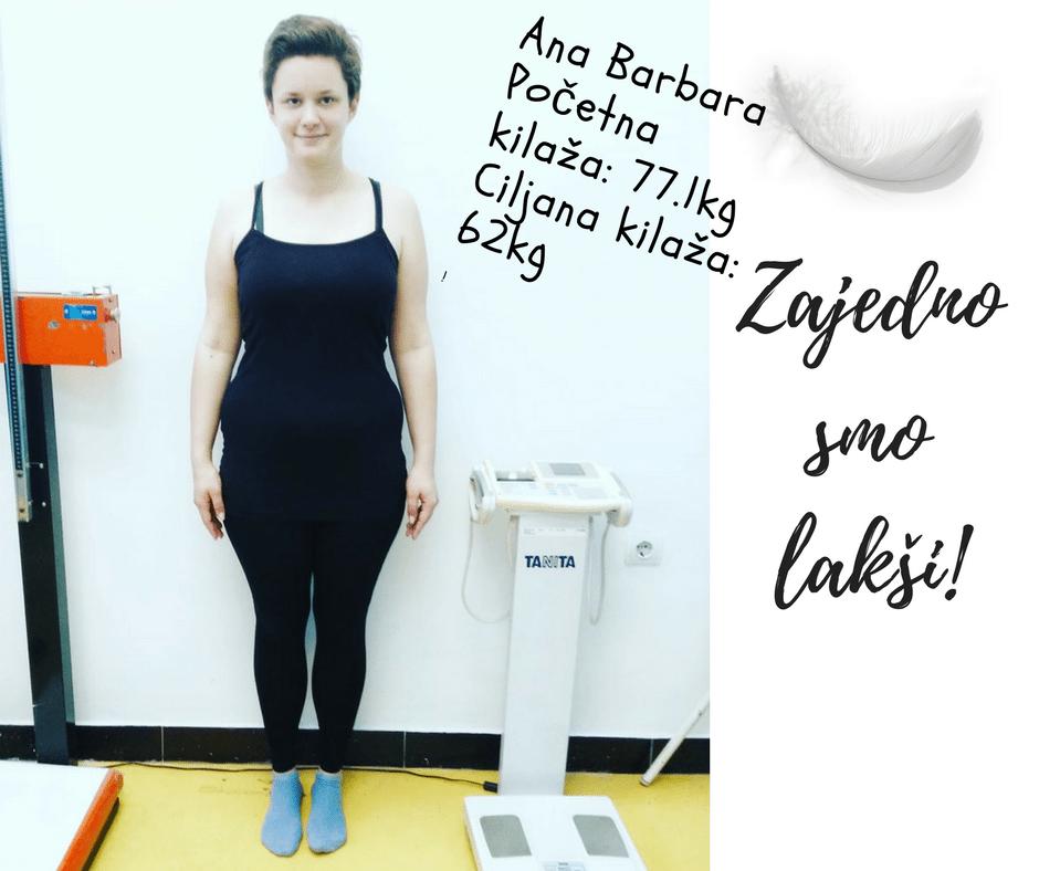 Ana Barbara, fotografija nakon merenja