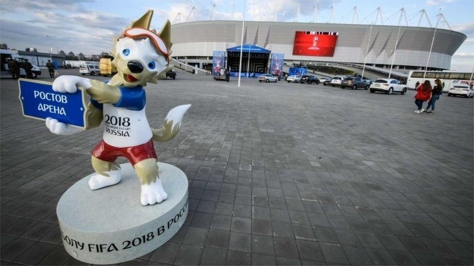 Zibavka, maskota Svetskog prvenstva, Rusija, 2018.