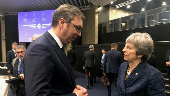 Vučić i Mej o saradnji Srbije i Britanije, poziv da Mej poseti Srbiju 1