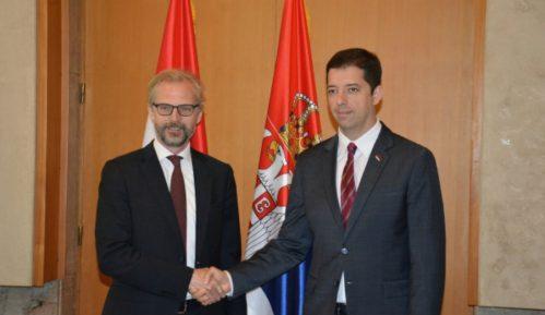 Đurić sa ambasadorom Austrije: Već pet godina se kasni sa ZSO 2