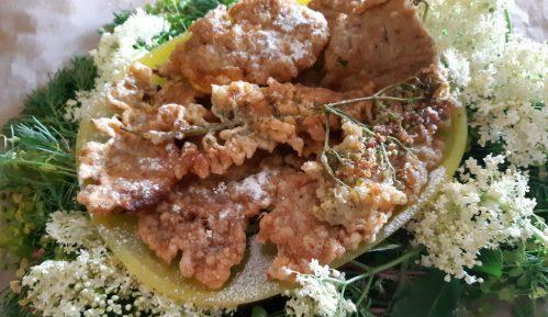 Pohovani cvetovi bagrema i zove (recept) 3