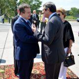 Dačić dočekao predsednika Kipra na aerodromu 7
