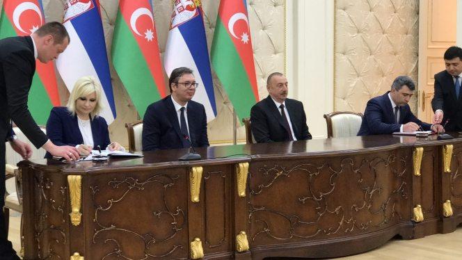 Vučić: Srbija želi da unapredi saradnju sa Azerbejdžanom 1