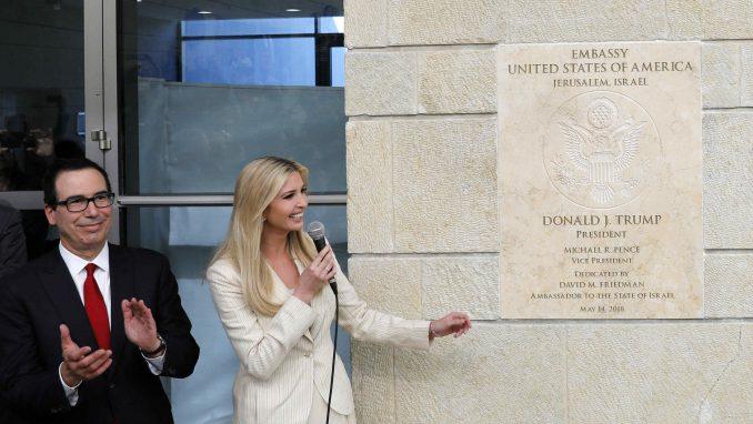 Otvorena američka ambasada u Jerusalimu (VIDEO) 1