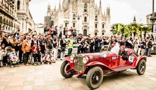 Alfa Romeo zauzela prva tri mesta na Mille Miglia 2018. 1