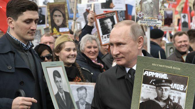Putin pozvao Vučića na marš Besmrtnog puka 1
