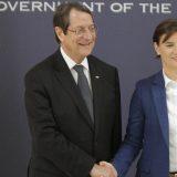 Brnabić: Odnosi Srbije i Kipra zasnovani na prijateljstvu 6