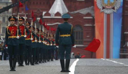 Proba za vojnu paradu u Moskvi (FOTO) 1