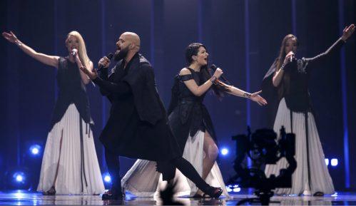 Iz kojih zemalja je Srbija na Evroviziji dobila najviše glasova publike? 9