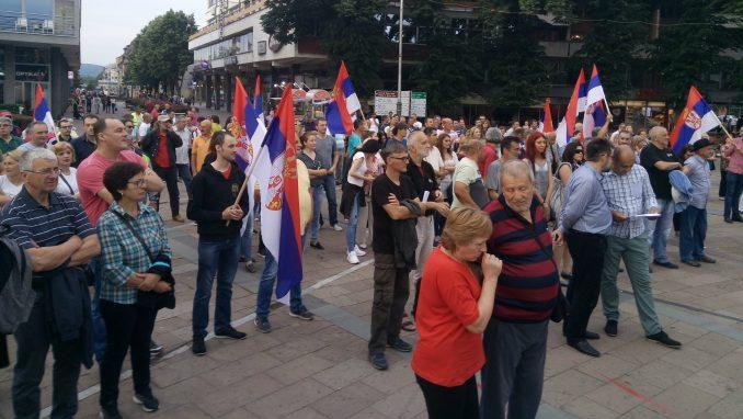 Nastavljeni protesti u Kraljevu 1