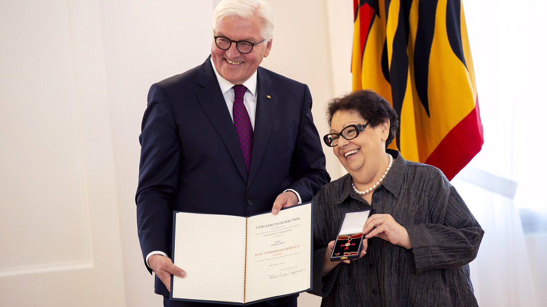 Sonja Liht odlikovana najvišim priznanjem Nemačke 1