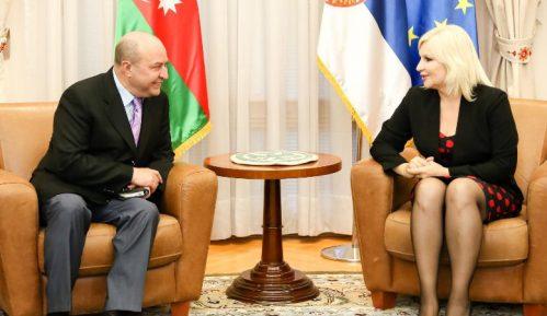 Mihajlović sa ambasadorom Azerbejdžana o novim infrastrukturnim projektima 5