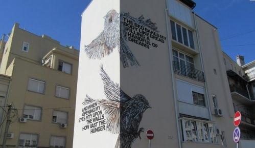 Izraelski umetnici poklonili mural Beograđanima 4