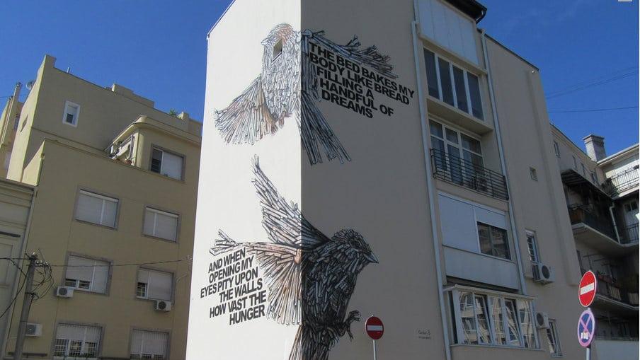 Izraelski umetnici poklonili mural Beograđanima 1