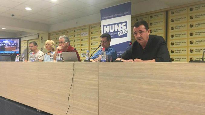 Lekić: Nebezbedno biti novinar u Srbiji 1