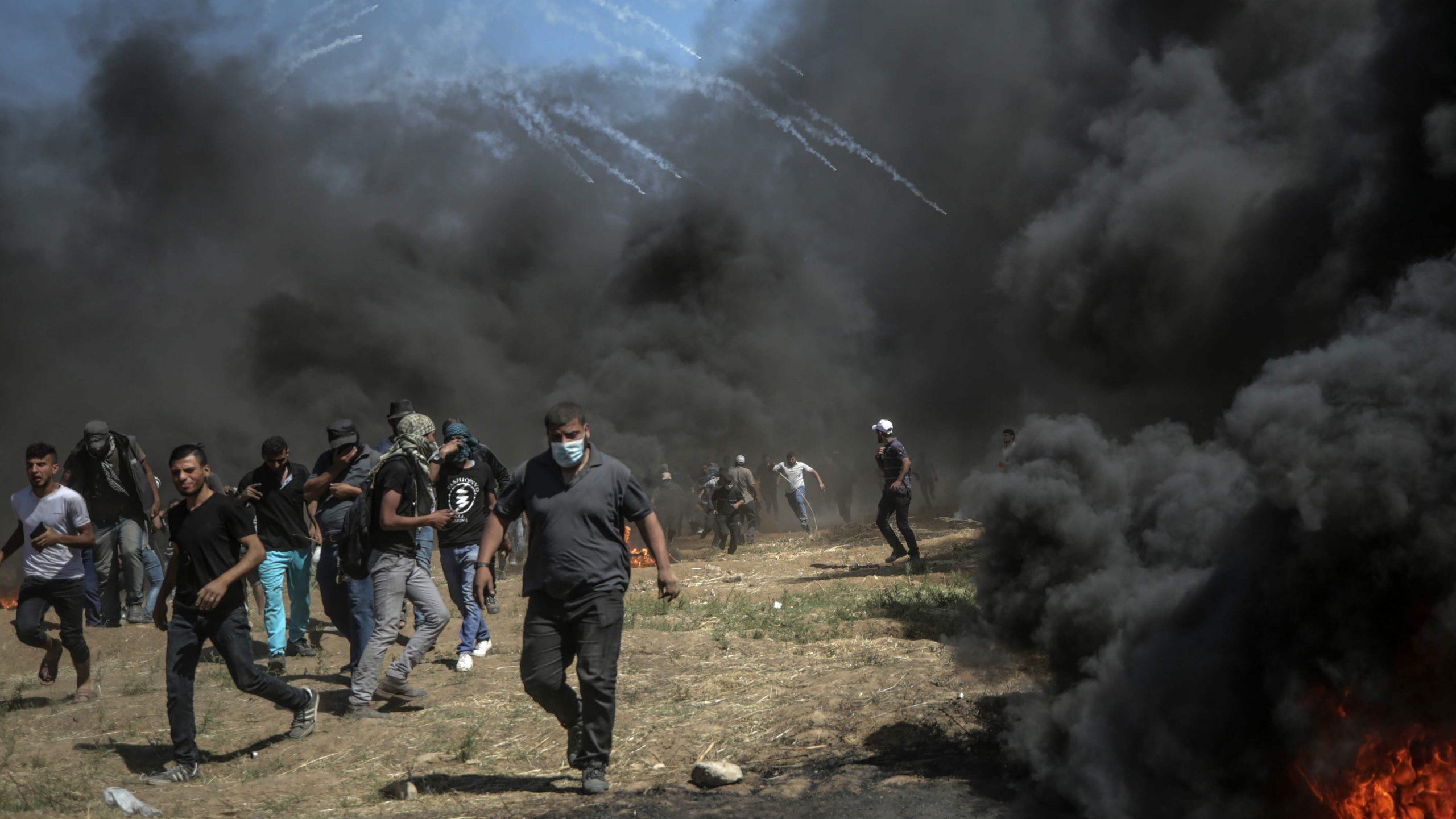 Danas veliki protest na granici pojasa Gaze 1