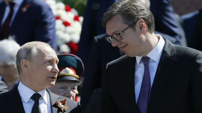 Vučić 17. januara domaćin Putinu 1