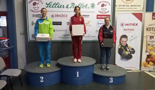 Sanja Vukašinović osvojila zlato u trostavu u Plzenju 6