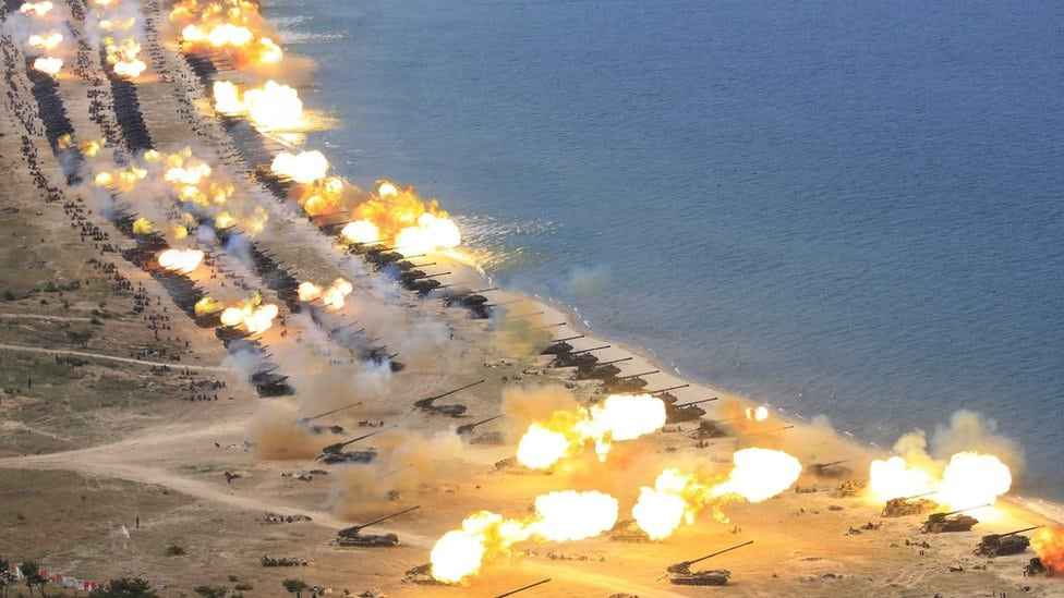 Plaže u Severnoj Koreji