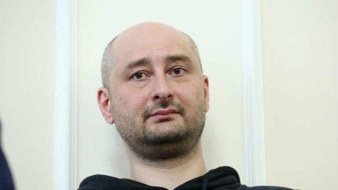 Arkadij Arkadijević Babčenko: Novinar u ulozi glumca 1