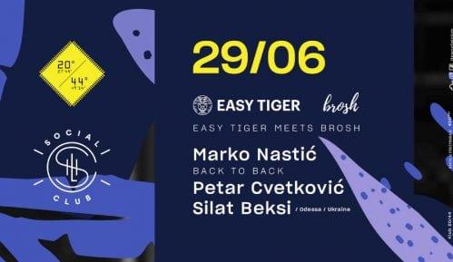 Easy Tiger žurka u petak, 29. juna 10