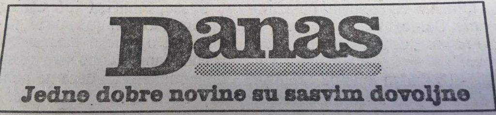 Danas (1999): Ćuruvija osuđen, Toni Bler preti Miloševiću Hagom 5