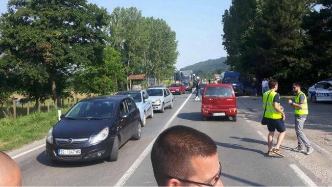 Blokada saobraćaja u više gradova u Srbiji 4