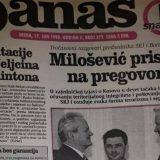 Milošević pristao na pregovore o Kosovu 11
