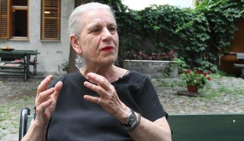 Sahrana Borke Pavićević 3. jula, komemoracija 4. jula u CZKD 4