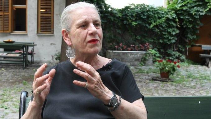 Sahrana Borke Pavićević 3. jula, komemoracija 4. jula u CZKD 1